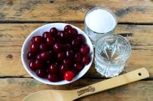 Компот из вишни на зиму (3 литра) - фото шаг 1