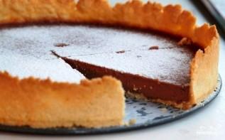 Шоколадный тарт - фото шаг 8