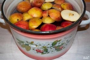 Компот из вишни с яблоками - фото шаг 3