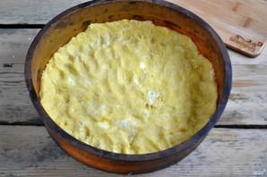 Яблочный пирог из песочного теста - фото шаг 8