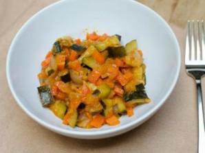 Салат из кабачков и сладкого перца - фото шаг 4