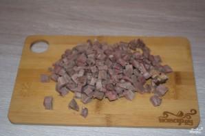 Салат с говяжьим языком - фото шаг 2