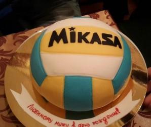 """Торт """"Волейбольный мяч"""" - фото шаг 5"""