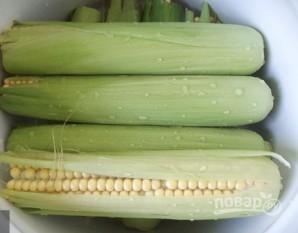 Кукуруза в початках - фото шаг 3