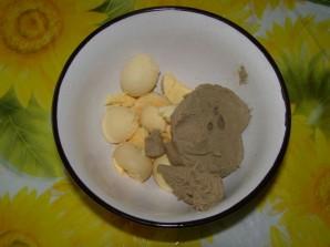 Яйца, фаршированные паштетом - фото шаг 3