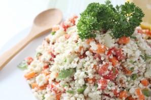 Салат из сырой цветной капусты - фото шаг 6