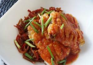 Карп по-китайски с овощами - фото шаг 7