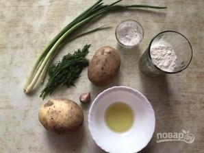 Постные картофельные вафли - фото шаг 1