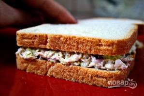 Салат с тунцом для сэндвича - фото шаг 7