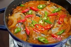 Рыбный суп из скумбрии - фото шаг 7