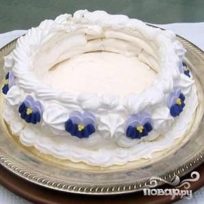 Испанский воздушный торт - фото шаг 4