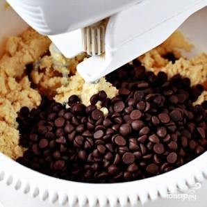 Печенье с шоколадной крошкой - фото шаг 5