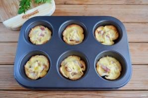 Хлебные корзиночки с начинкой - фото шаг 10