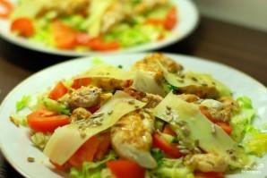 Теплый салат с курицей - фото шаг 13