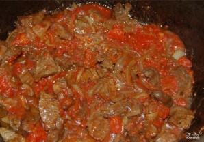 Мясо по-татарски - фото шаг 9