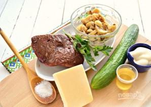 Салат с печенью свиной - фото шаг 1