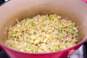 Суп с ветчиной и картофелем - фото шаг 1