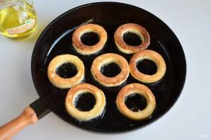 Калачи из творога на сковороде - фото шаг 6