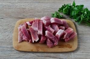 Сливочная свинина с черносливом - фото шаг 3