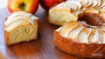 Яблочный пирог на рисовой муке - фото шаг 8