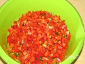 Салат закусочный - фото шаг 2
