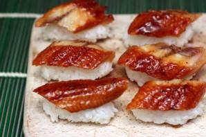 Суши с угрем - фото шаг 5