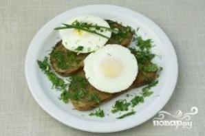 Яйца-пашот с тостами - фото шаг 7