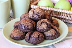 Орехово-шоколадное печенье - фото шаг 9