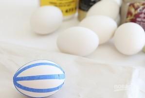 Яйца пасхальные золотые - фото шаг 2