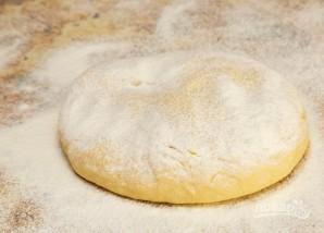 Быстрое тесто на кефире для пирожков - фото шаг 7