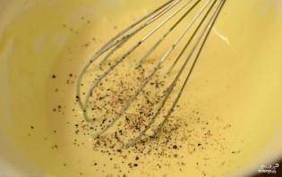 Киш с брокколи и тунцом - фото шаг 9