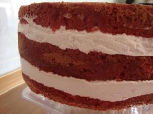 Малиновый мусс для торта - фото шаг 4