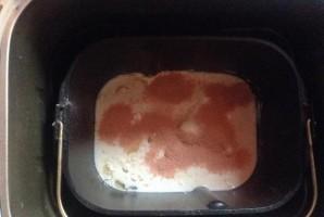Тесто на кефире в хлебопечке - фото шаг 4