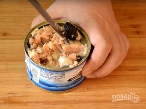 Суп из рыбных консервов (из горбуши) - фото шаг 5