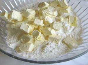 Пирог на маргарине с вареньем - фото шаг 1