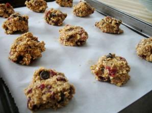 Овсяное печенье с клюквой - фото шаг 2