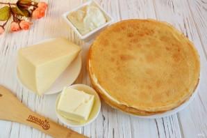 Блинчики, фаршированные сыром - фото шаг 1