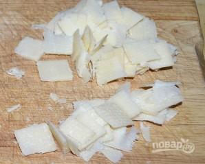 Салат с сырыми шампиньонами - фото шаг 2