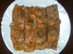 Красная рыба на пару - фото шаг 4