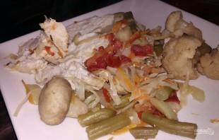 Курица, запеченная с овощами, по диете Дюкана - фото шаг 10