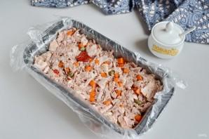 Террин из свиной рульки с каперсами и вялеными томатами - фото шаг 7