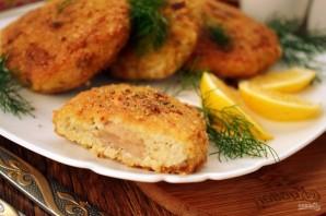 Рыбные зразы с печенью трески - фото шаг 5
