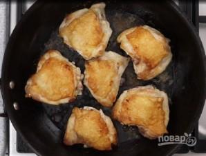 Курица с макаронами по-гречески - фото шаг 3