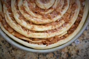 Сладкий пирог из дрожжевого теста - фото шаг 12