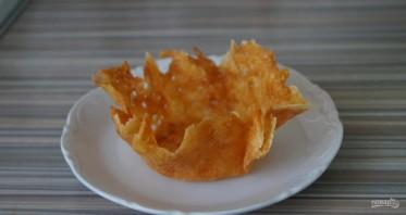 Тарталетки из сыра - фото шаг 4