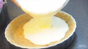 Простой чизкейк из творога - фото шаг 4
