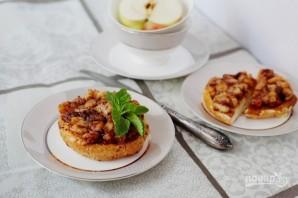 Французские тосты с яблоками - фото шаг 7