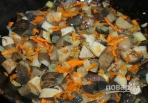 Суп с лесными грибами - фото шаг 8