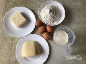 Песочный пирог с сыром - фото шаг 1