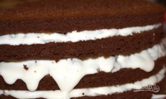 Рождественский торт с черносливом - фото шаг 13